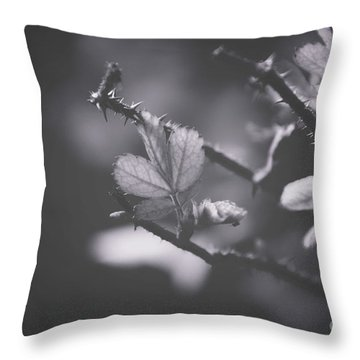First Signs Of Spring -georgia Throw Pillow