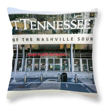 First Tennessee Park, Nashville Throw Pillow