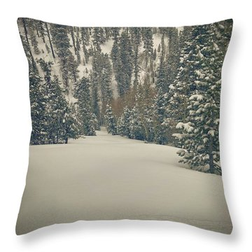 Throw Pillow featuring the photograph first turns Friday  by Mark Ross