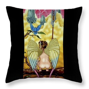First Watch Throw Pillow
