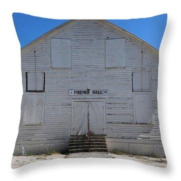 Fischer Dance Hall Throw Pillow