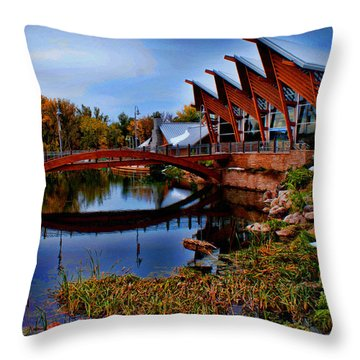 Fish And Wildlife Throw Pillow