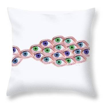 Hypnosis Throw Pillows