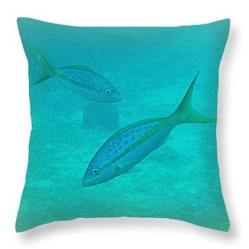 Fish Eye View  Throw Pillow