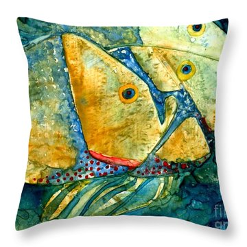 Fish Friends Throw Pillow
