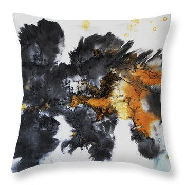Fish In Stream 12030015fy Throw Pillow