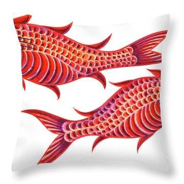 Fish Pisces Throw Pillow
