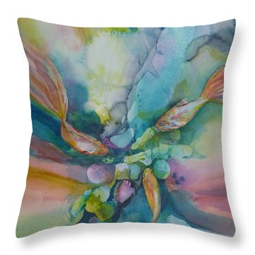 Fish Tales Throw Pillow
