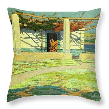 Fisherman's House, Puerta Pollensa Throw Pillow