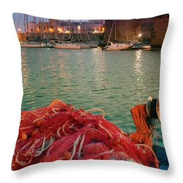 Fisherman's Net Throw Pillow