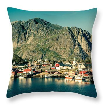 Fishermen Have Gone Throw Pillow