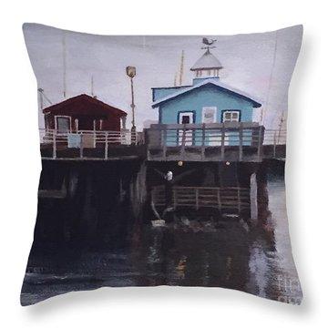 Fishermen Respite Throw Pillow