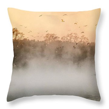 Fisher's Delight  Throw Pillow