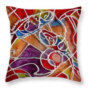 Vitrage Throw Pillows