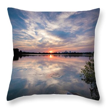 Fishin' Throw Pillow