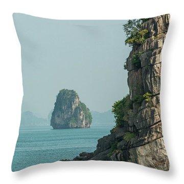 Fishing Boat 2 Throw Pillow by Werner Padarin