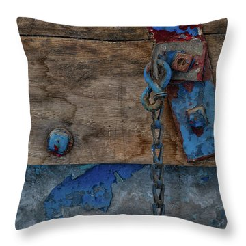 Throw Pillow featuring the photograph Fishing Boat 5 by Heather Kenward