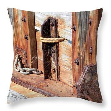 Fishing Boat 6 - Throw Pillow