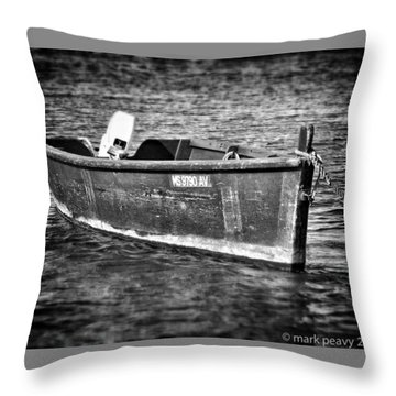 Fishing Boat Cape Cod Throw Pillow