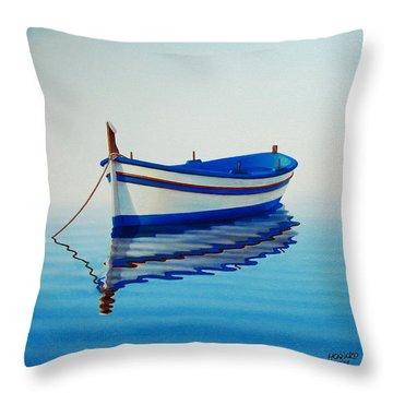 Boats Throw Pillows