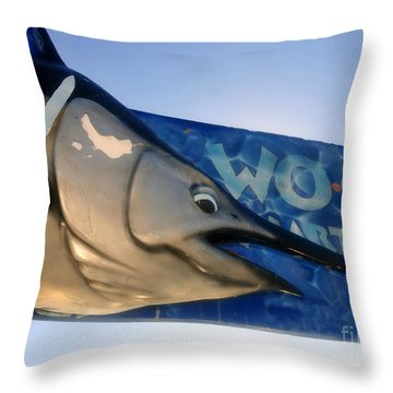 Fishing Charter Throw Pillow by David Lee Thompson