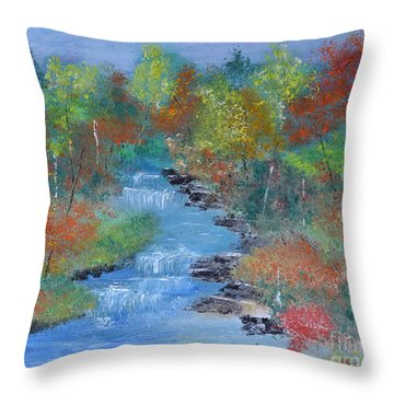 Fishing Creek Throw Pillow