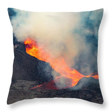 Fissure 8 In July Throw Pillow
