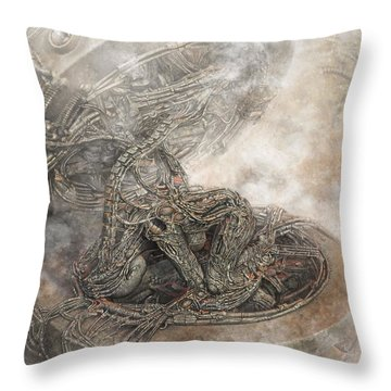 Fit Into The System Throw Pillow