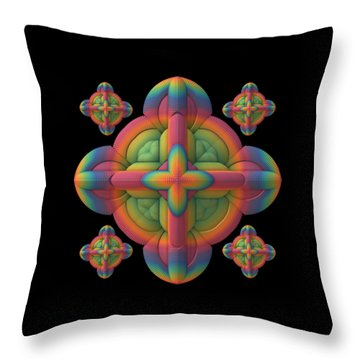 Throw Pillow featuring the digital art Fit To A Tee by Lyle Hatch