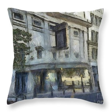 Fitzgerald Throw Pillow by Paulette B Wright