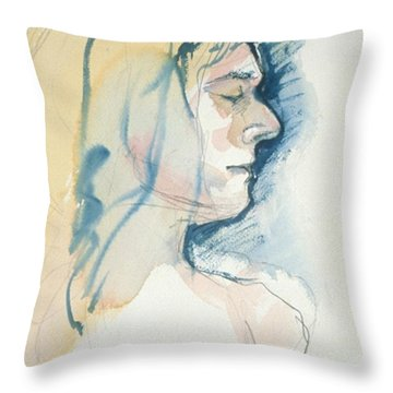 Five Minute Profile Throw Pillow