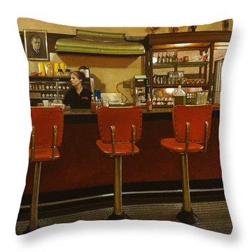 Fast Food Throw Pillows