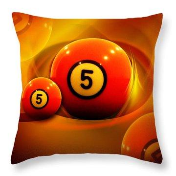 Fiveonfire Throw Pillow