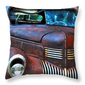 Throw Pillow featuring the photograph Fixer Upper by Alana Ranney