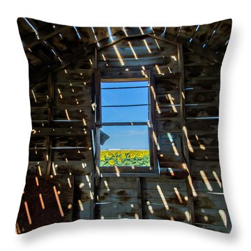 Fixer Upper With A View Throw Pillow by Kristal Kraft