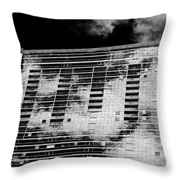 Fla-150531-nd800e-25118-bw Throw Pillow