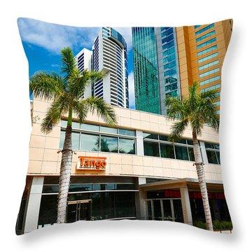 Fla-150531-nd800e-25125-color Throw Pillow by Fernando Lopez Arbarello