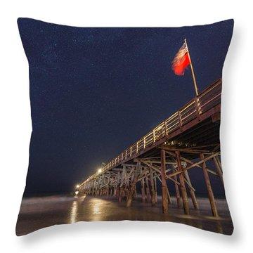 Flagler Beach Throw Pillow
