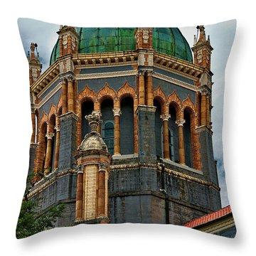 Flagler Memorial Presbyterian Church 3 Throw Pillow by Christopher Holmes