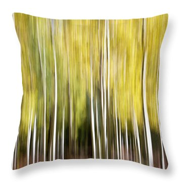 Flagstaff Aspens Throw Pillow
