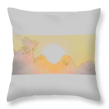 Flagstaff Dawn Throw Pillow