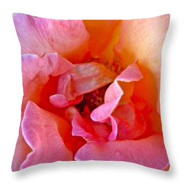 Flallon Up Close Throw Pillow by Gwyn Newcombe