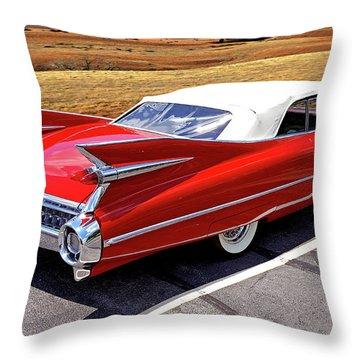 Flamboyant Fifty-nine Throw Pillow
