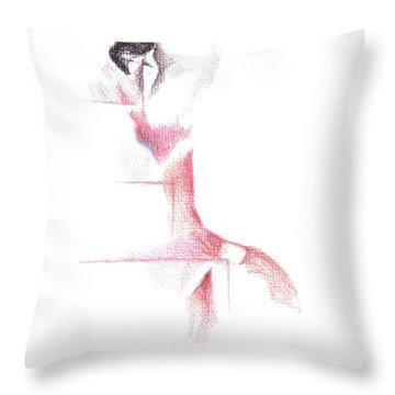 Flamenco Geometric Cc101 Throw Pillow by Kip DeVore