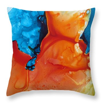 Flamenco Throw Pillow by Keith Thue