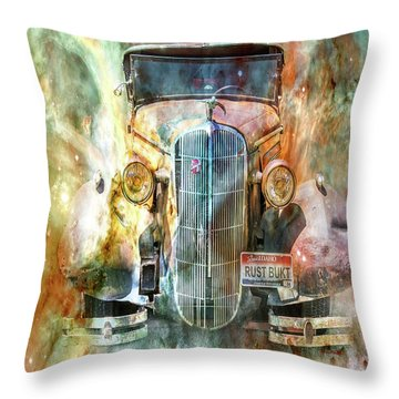 Flames Of Glory Throw Pillow