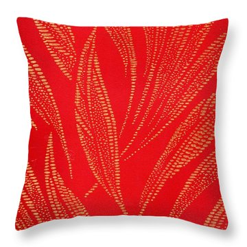 Flamework Throw Pillow
