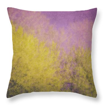 Throw Pillow featuring the photograph Flaming Foliage 3 by Ari Salmela