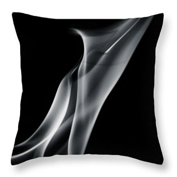 Flaming Twist Throw Pillow