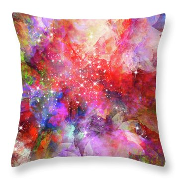Flammable Imagination  Throw Pillow